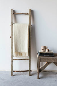 Cream Wool Blanket
