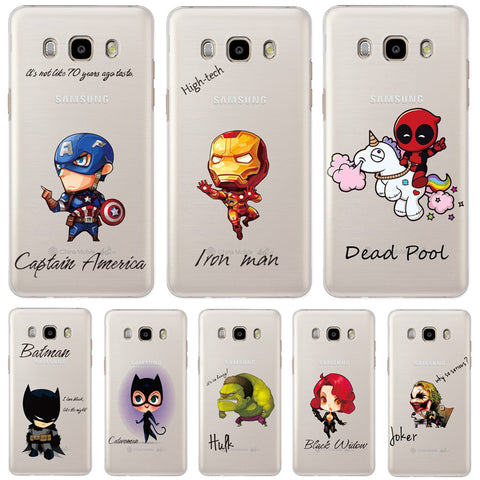 Marvel Heroes phone Cases For Samsung