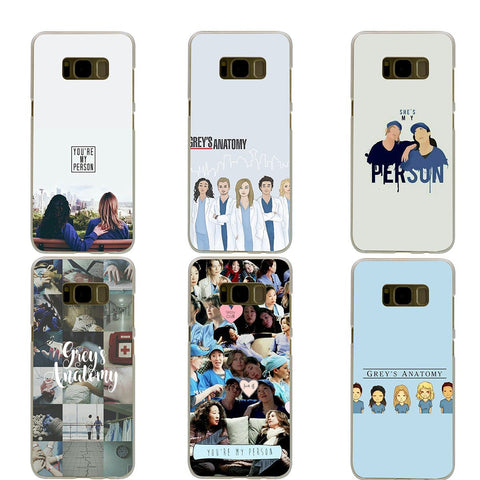 NEW Grey's Anatomy Phone Cases for Samsung