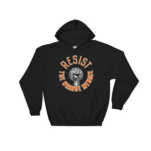 """Resist The Orange Menace"" Standard Hoodie"
