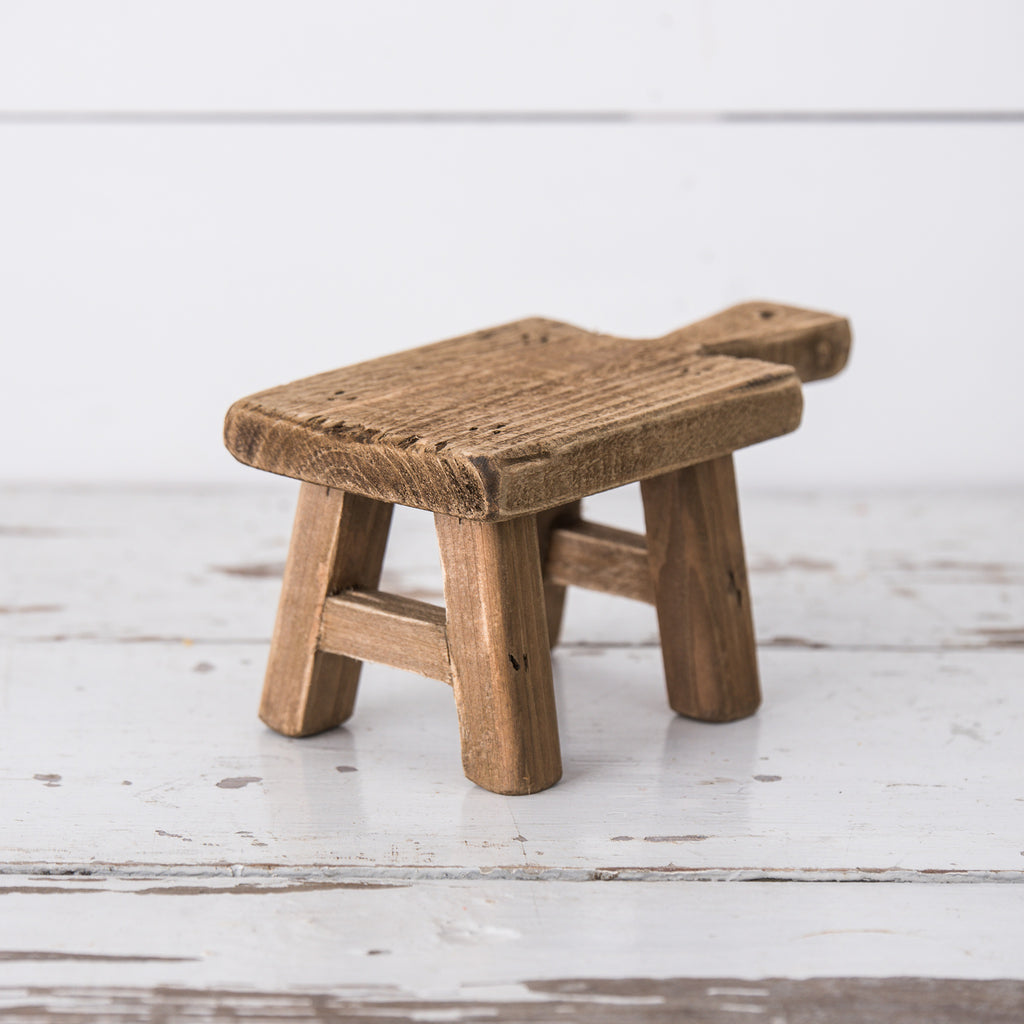 Wooden Display Stools