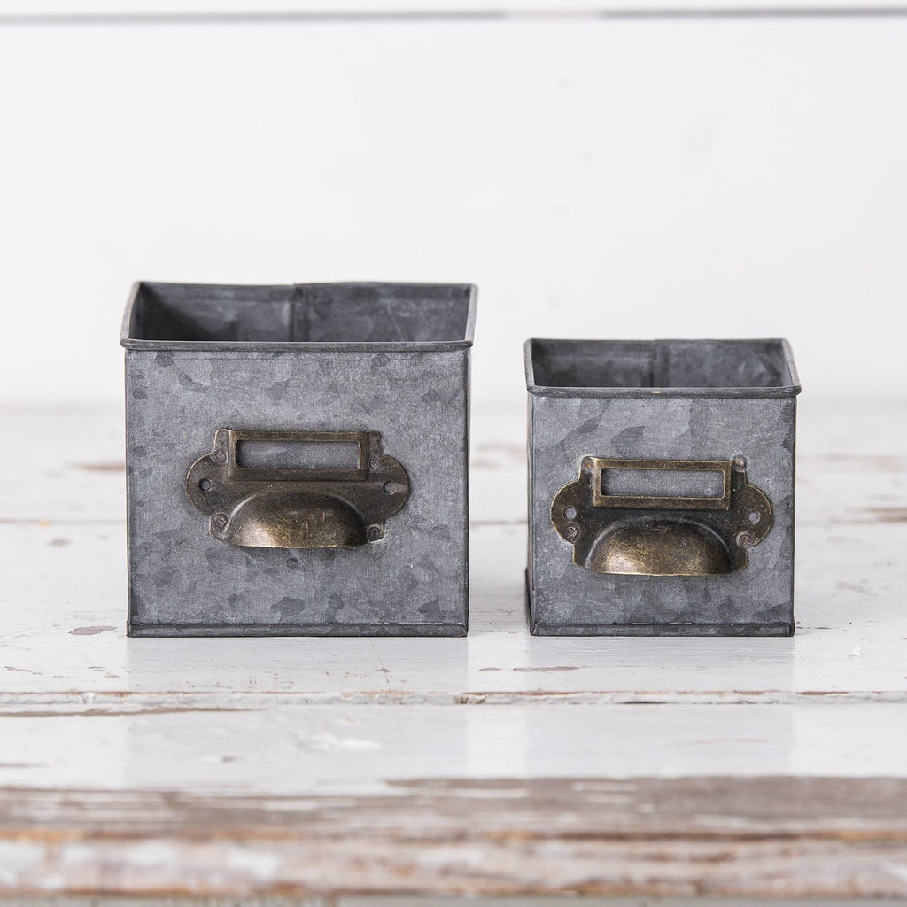 Square Metal Tins