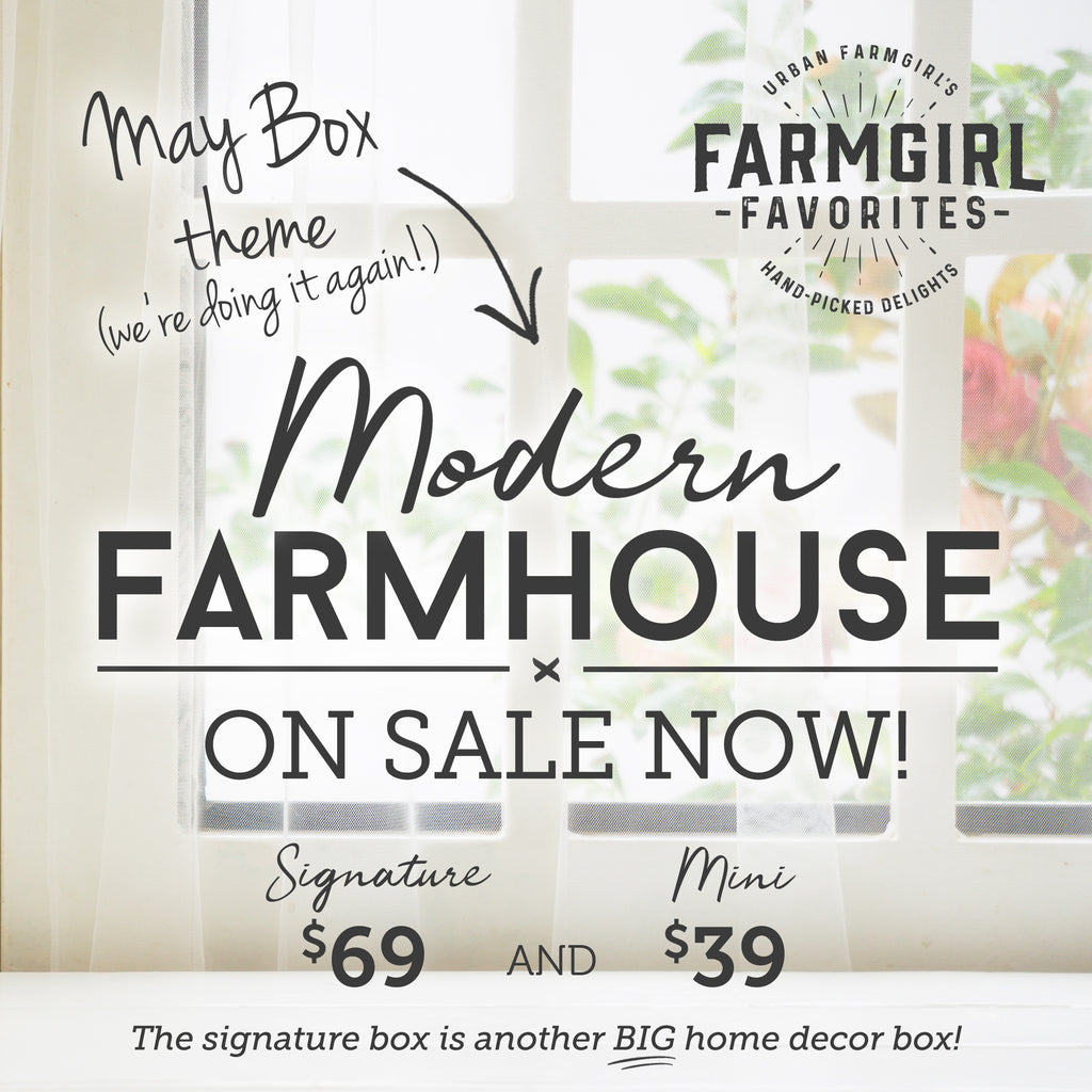 Pre-Sale May Farmgirl Favorites Box