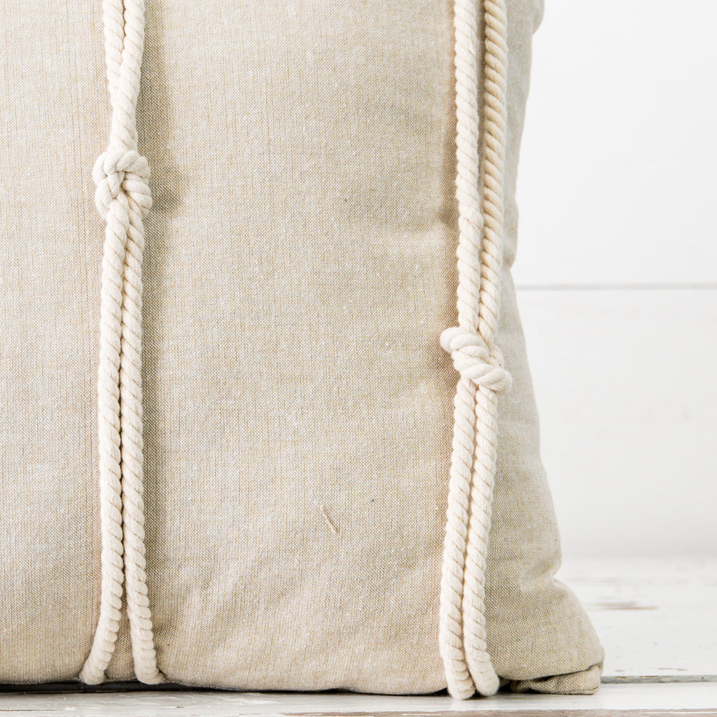 Rope & Knot Pillow