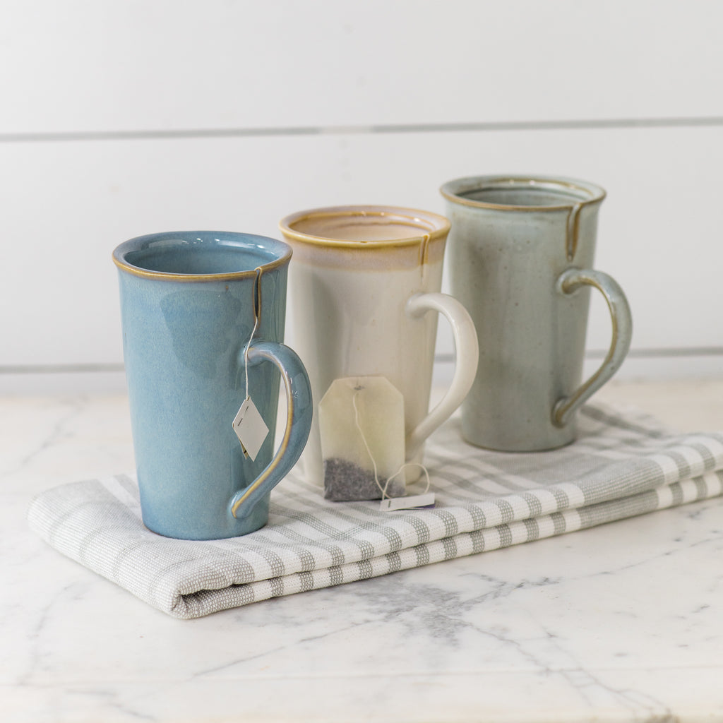 French Blue Tea Mug