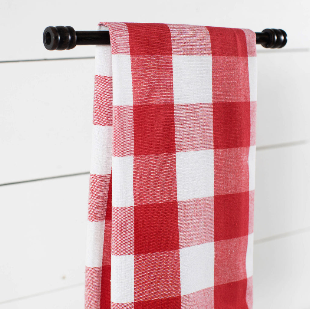 Buffalo Check Dish Towel - 5 Colors Available