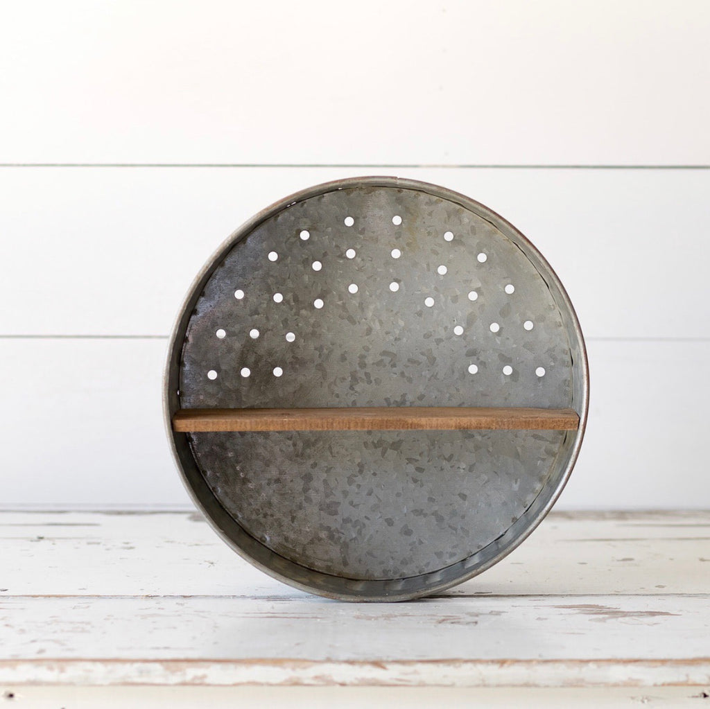 Round Metal Shelf