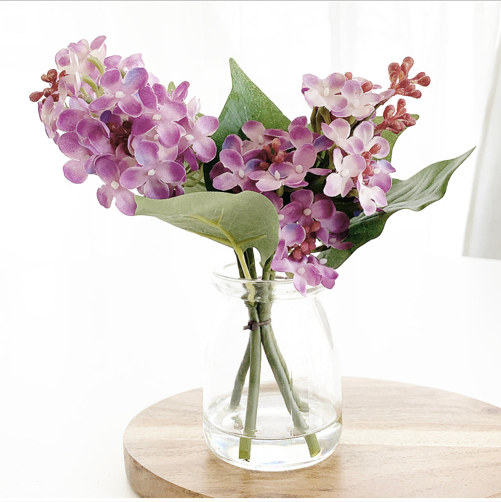 Lilacs in Glass Jar LAST CHANCE