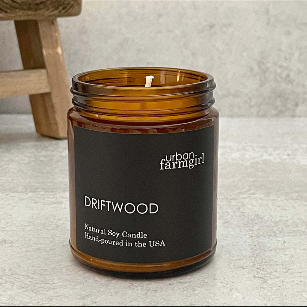 Driftwood Candle