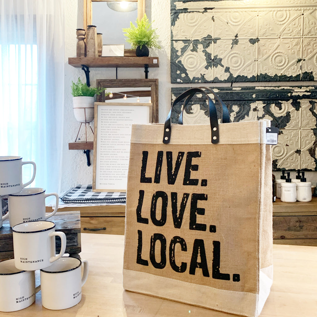 Live Love Local Tote