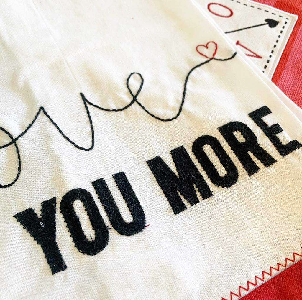 Love You More Towel