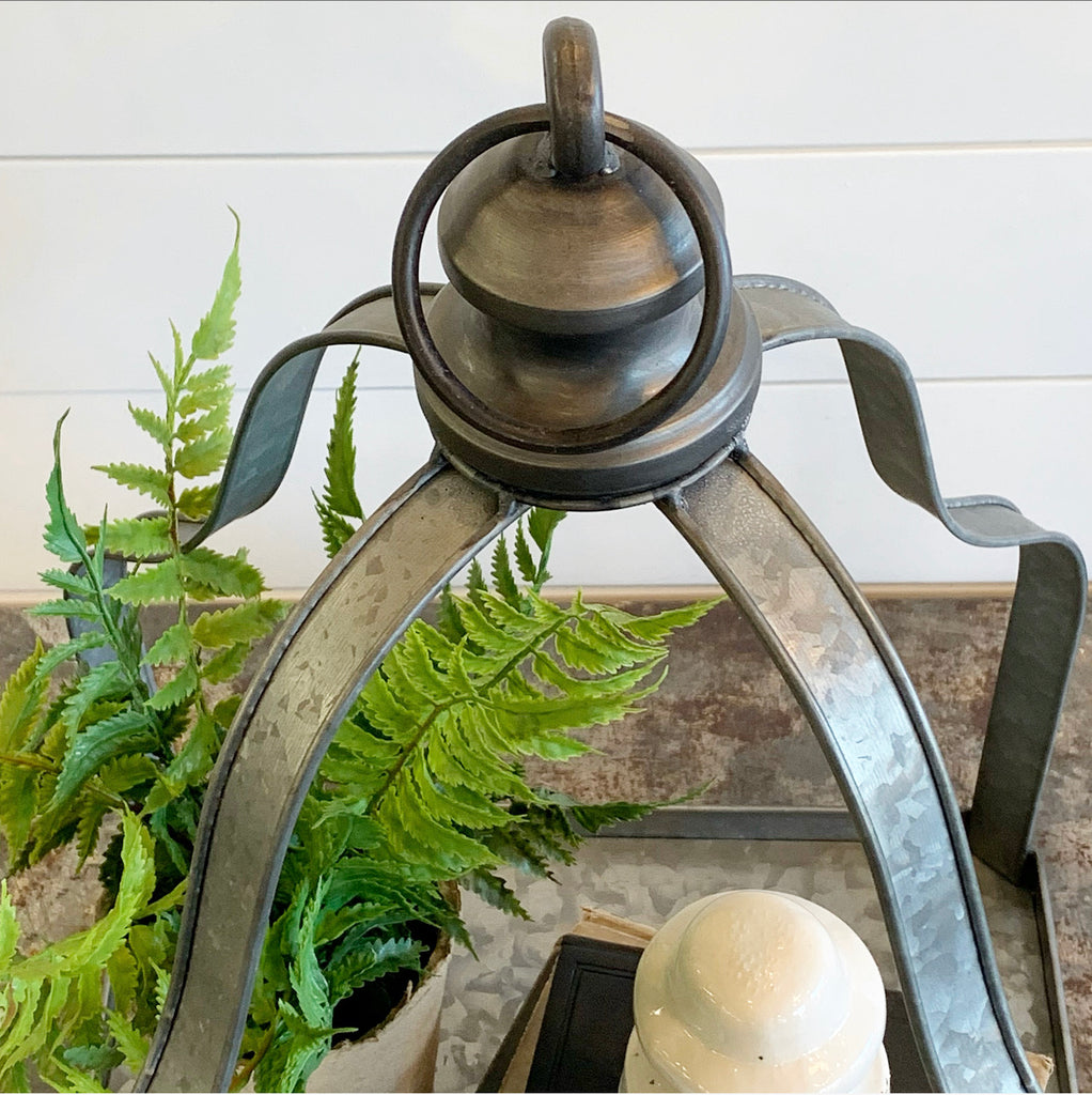 Metal Display Cloche