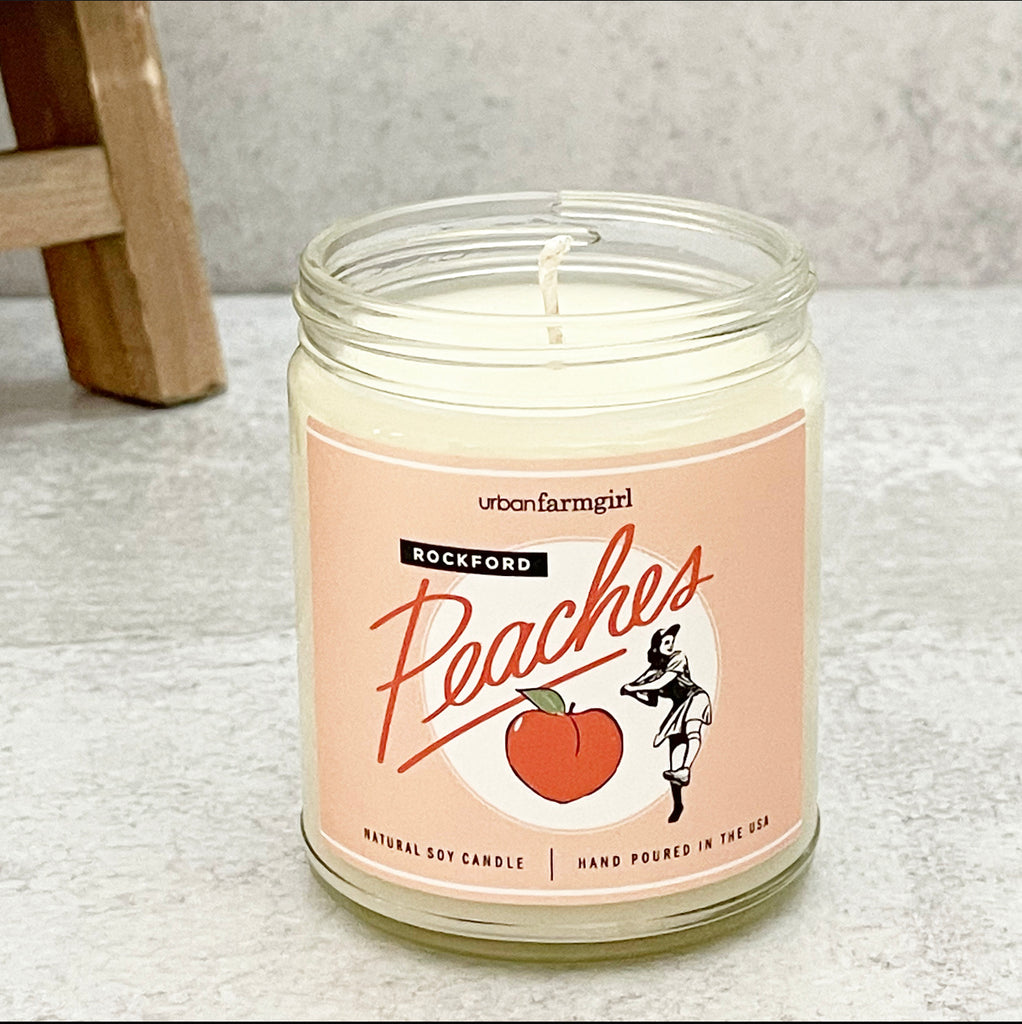 Rockford Peaches Signature Candle