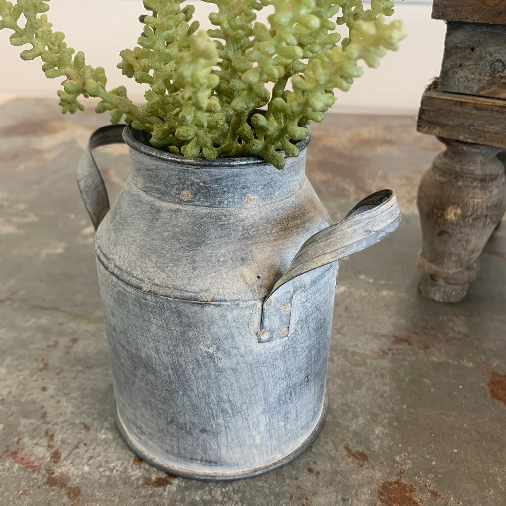 Mini Milk Can Vase