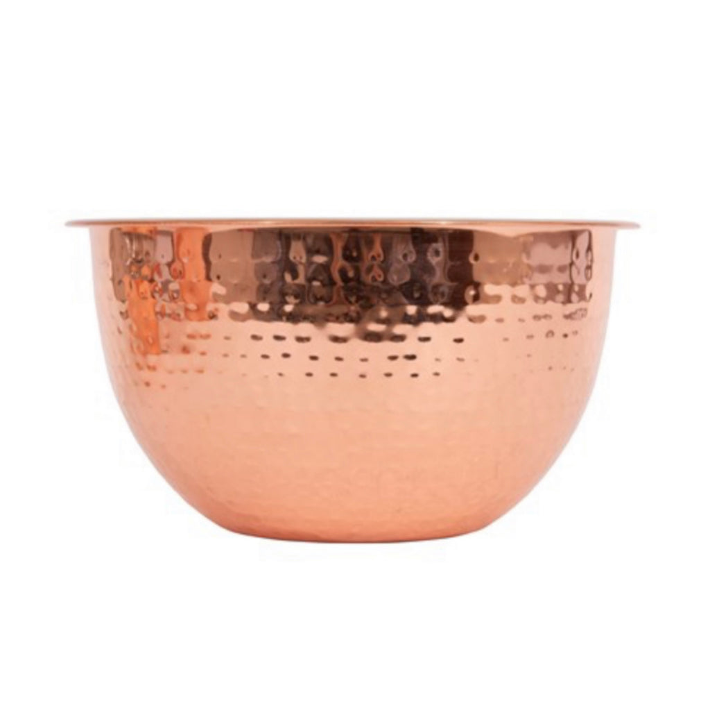 Copper Finish Bowls S/3