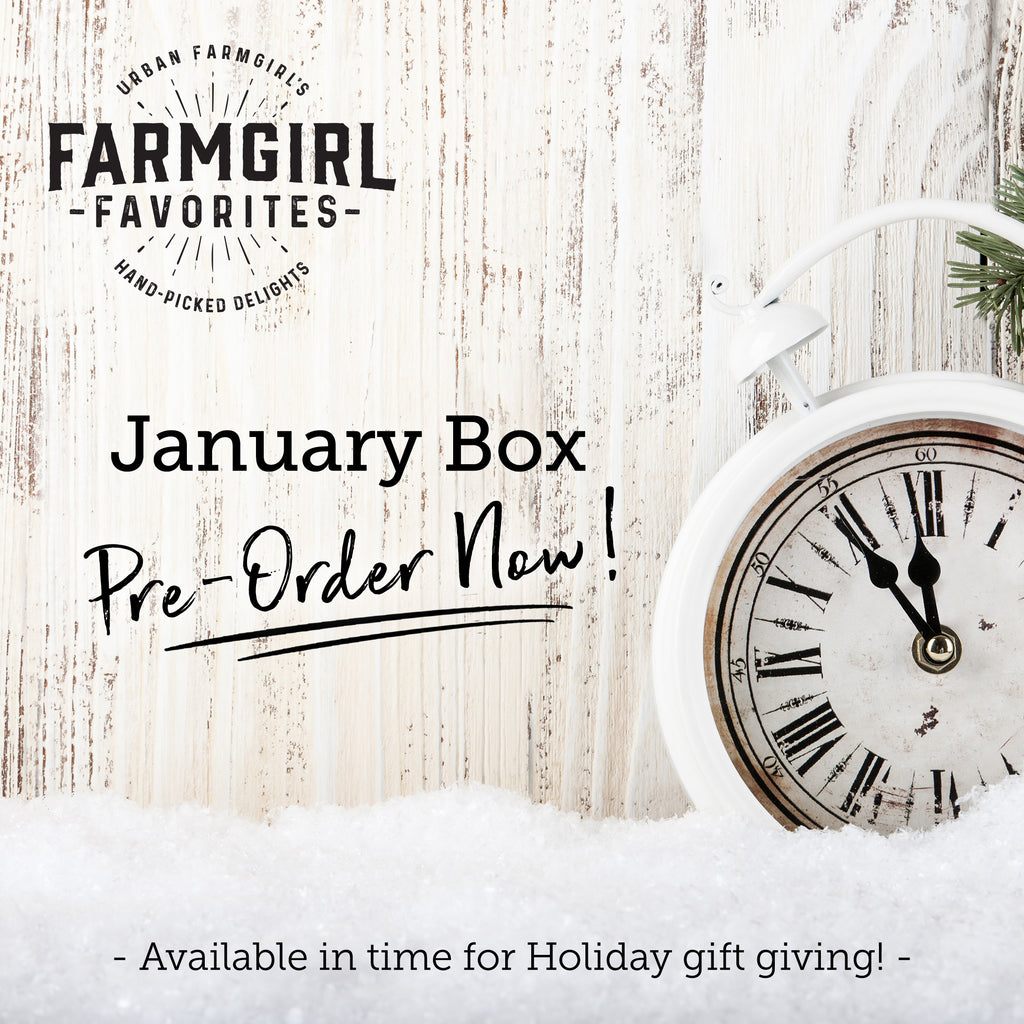 (Pre-Order) January Farmgirl Favorites Signature or Mini Box