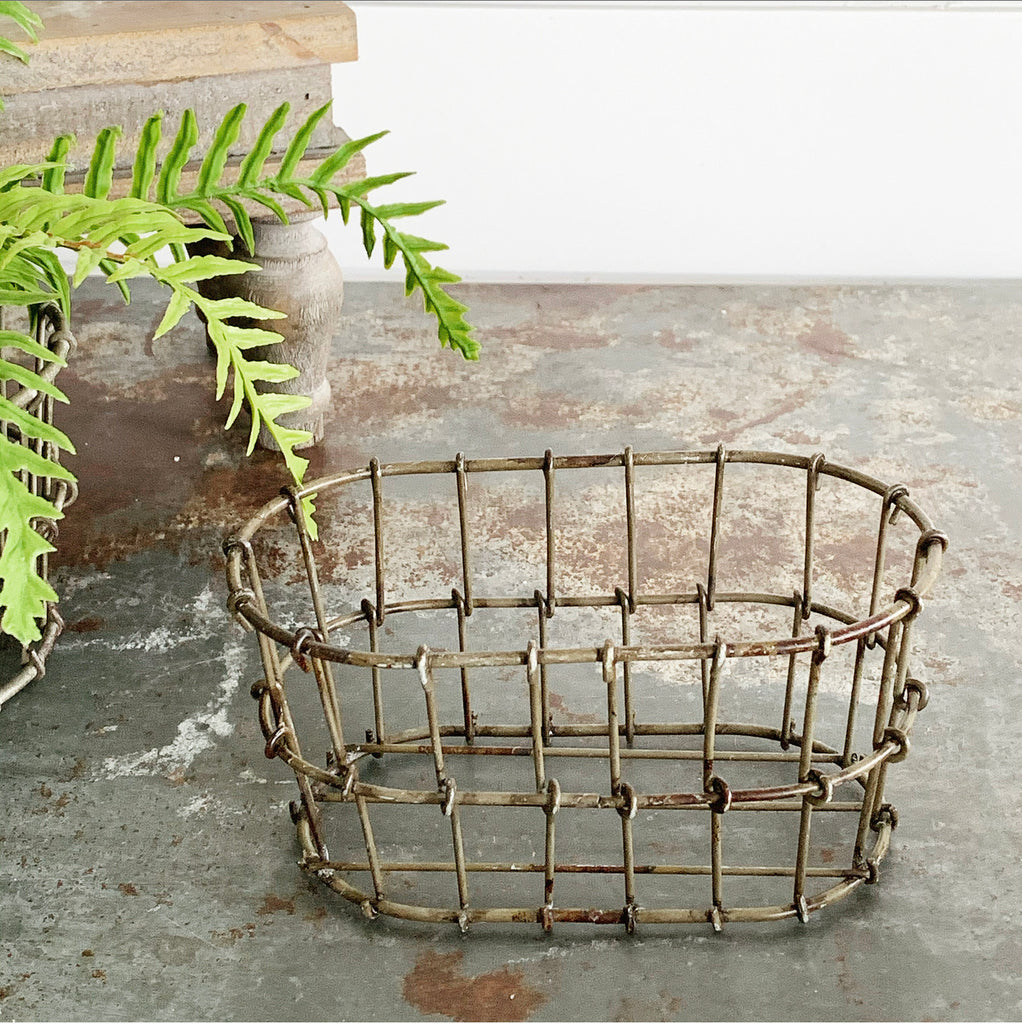 Wire Basket - Oval or Round