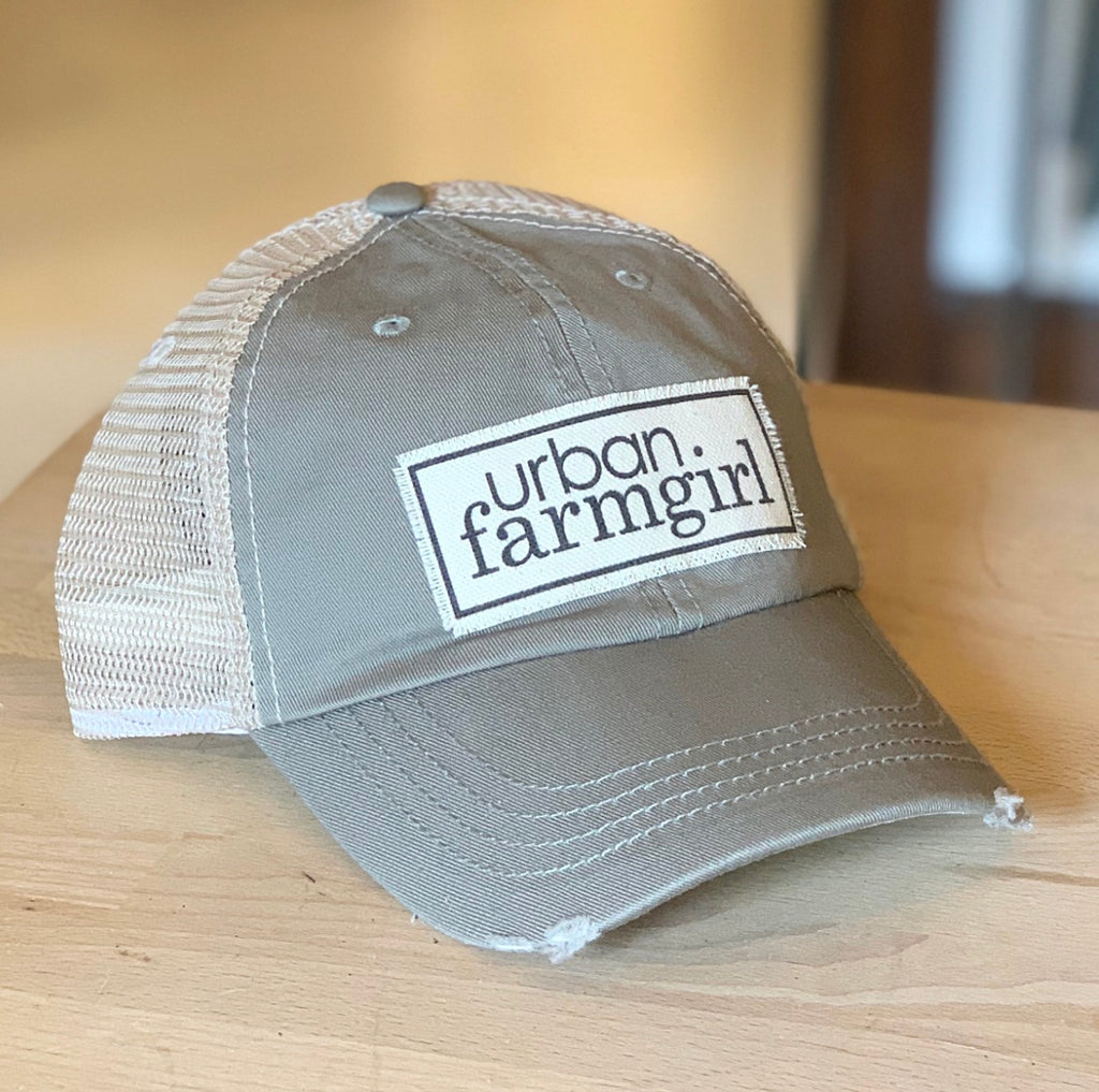 Sage Urban Farmgirl Bastball Cap