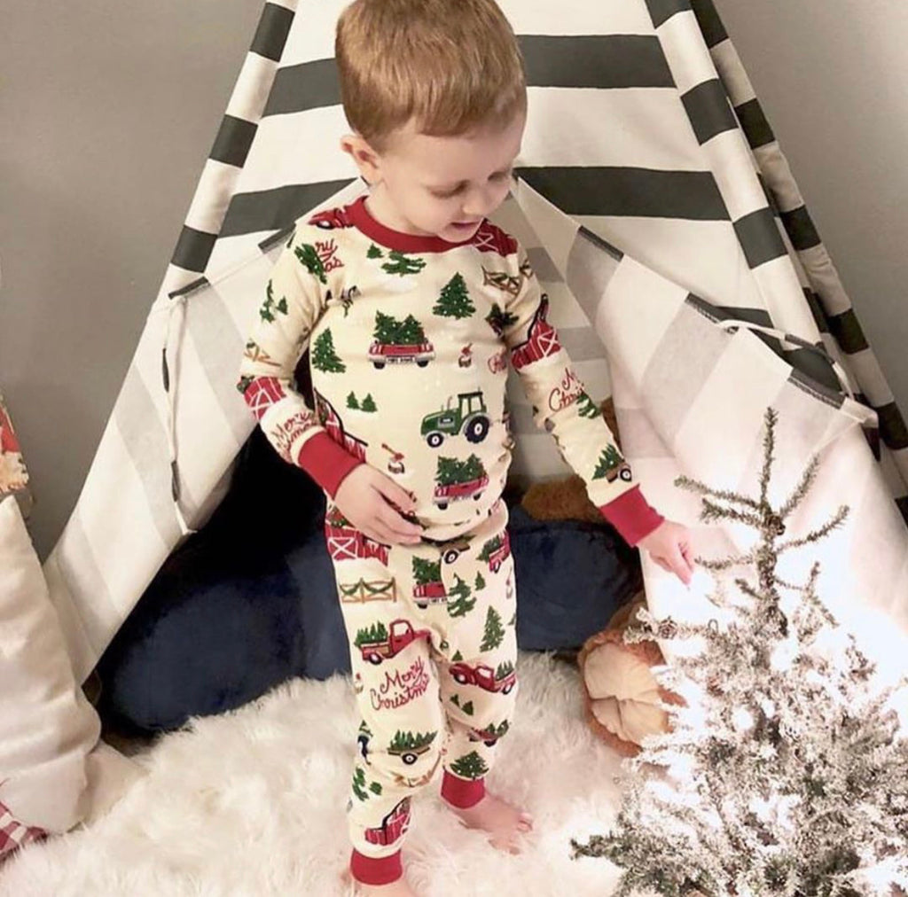 Children's Farm Pajamas