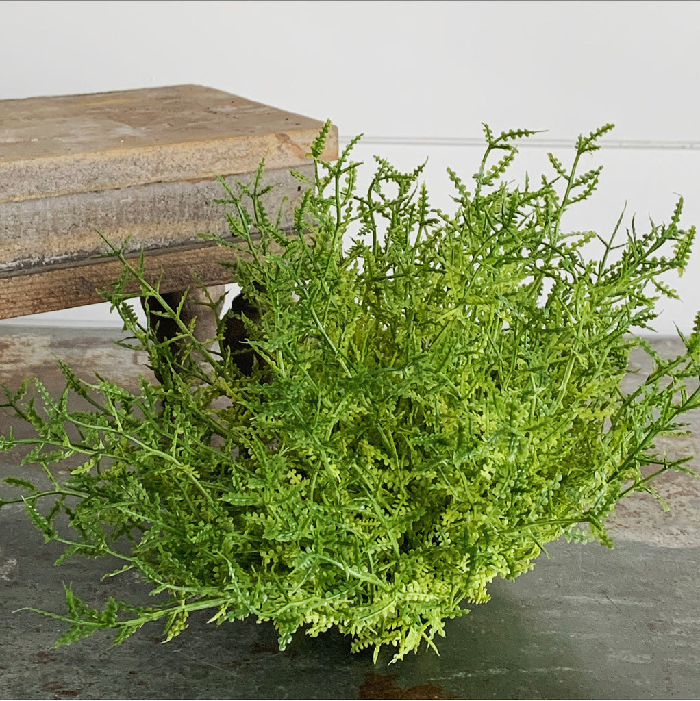 Feather Fern Pouf