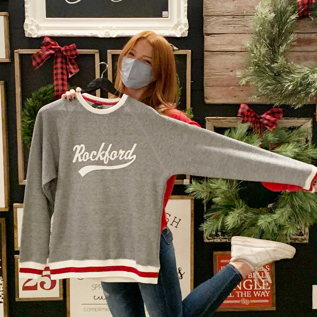 Sock Monkey Rockford Sweatshirt
