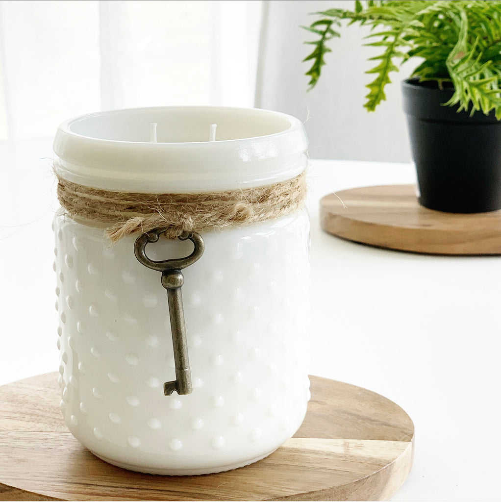 "Sweet Wick ""Hobnail"" Candles"