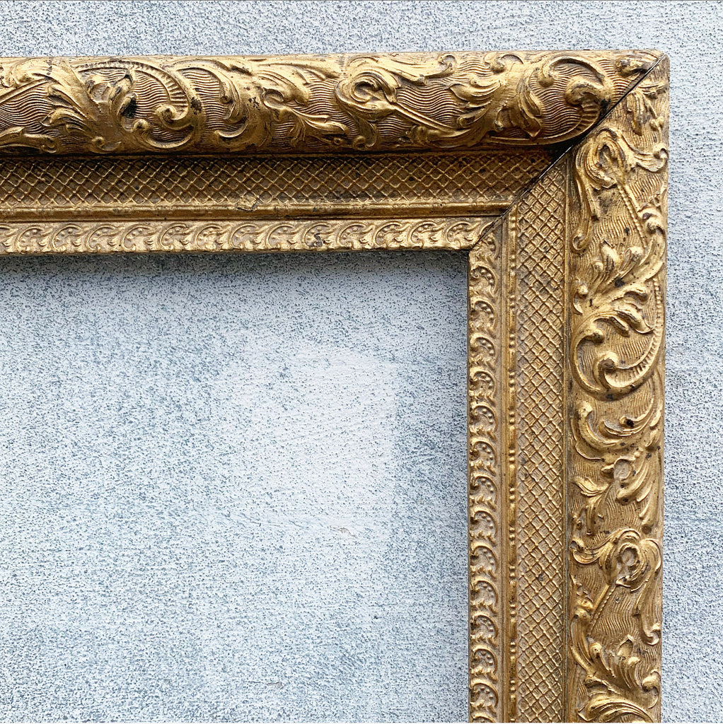 Pair of Gold Antique Ornate Frames