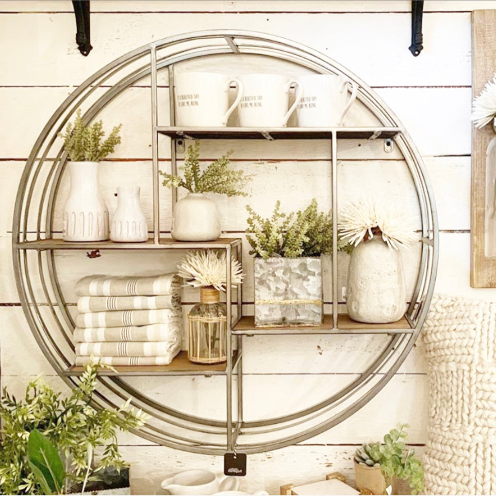 Large Round Wall Shelf PRE-ORDER