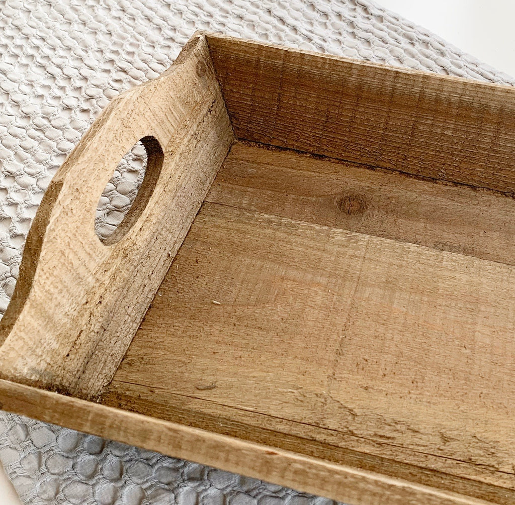 Rustic Wood Tray (large)