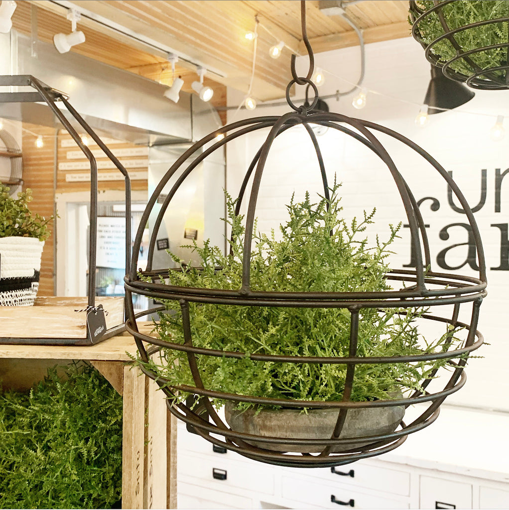 Round Hanging Planter - 2 sizes