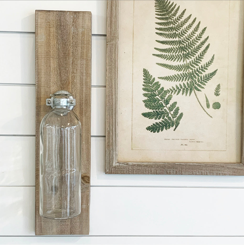 Wall Bottle Vase