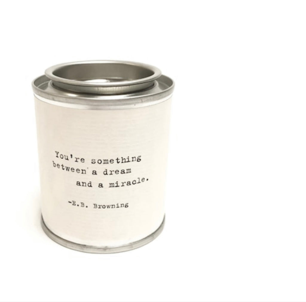 Mini Quote Candle
