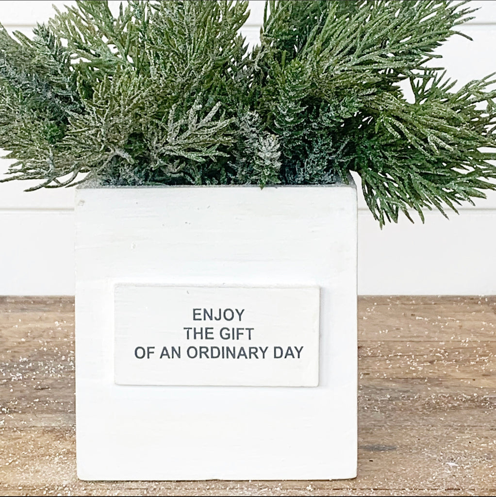 Enjoy the Gift of an Ordinary Day Box