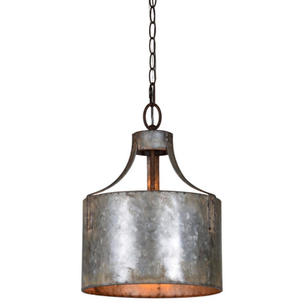 Galvanized Metal Industrial Pendant