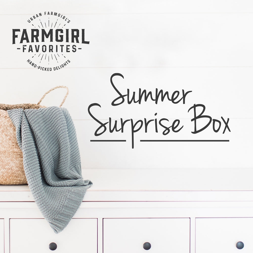 Summer Surprise Box - 4th & Final Edition (ready for pick-up/shipping August 6th)