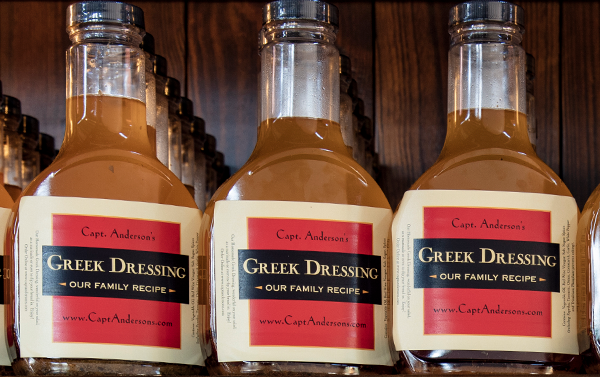 Capt. Anderson's Greek Dressing