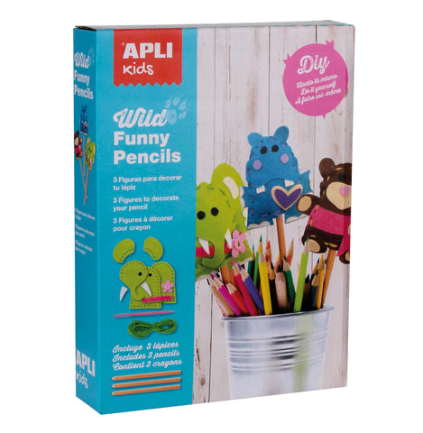 Apli Pencil Topper Craft Kit