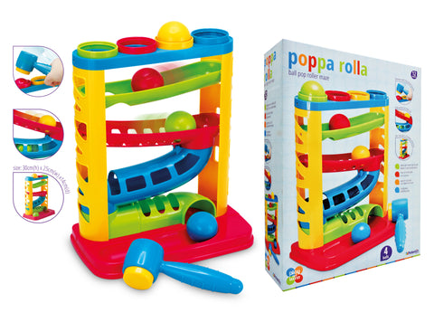 Play and Learn - Poppa rolla pound and roll game