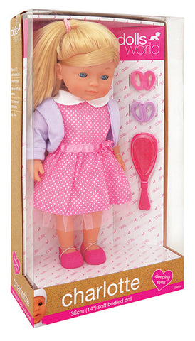 Dolls World by Peterkin - Charlotte 36cm Doll