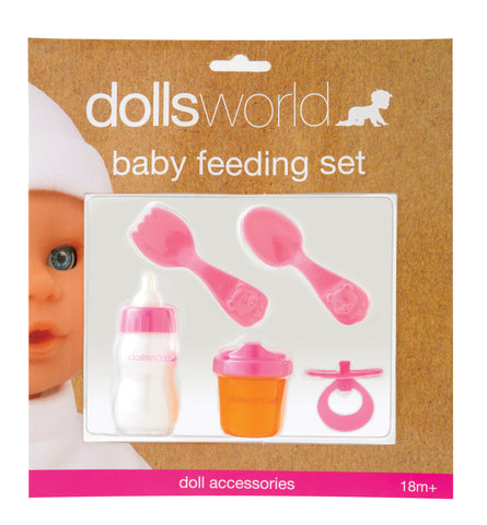 Dolls World by Peterkin - Baby Feeding Set