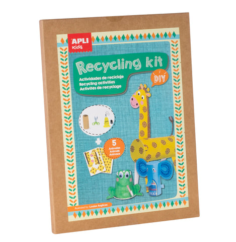 Apli Kids - Animal-themed Recycling Craft Kit