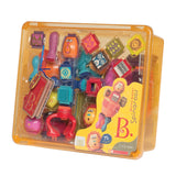 B. Toys by Battat - Bristle Blocks Spinaroos - the perfect toy for frustration-free building