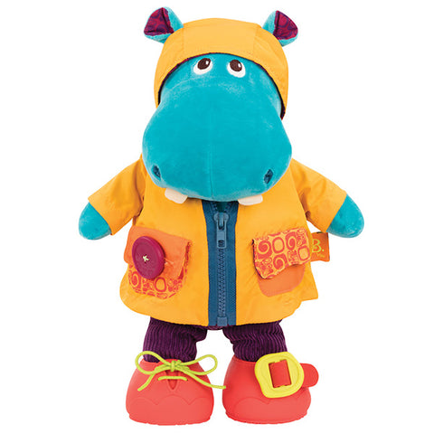 B. toys by Battat - Giggly Zippies - Dress Me Hippo