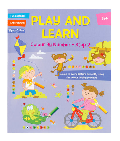 Play and Learn - Colour By Number Step 2