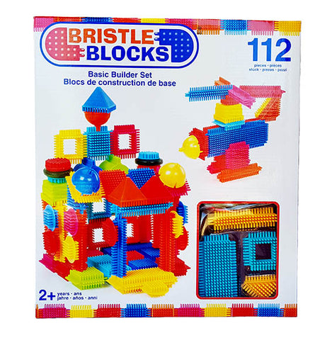 Battat - Bristle Blocks - 112 piece Basic Building Set
