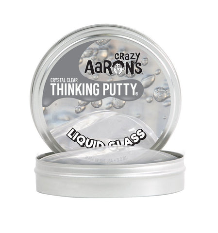 "Crazy Aarons Thinking Putty - Liquid Glass 4"" tin"