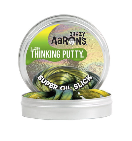 "Crazy Aarons Thinking Putty -Oil Slick 2"" Tin"