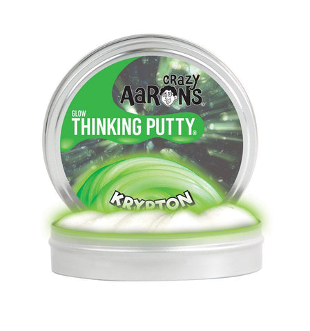 "Crazy Aarons Thinking Putty - Krypton 2"" tin"