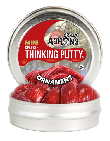 "Crazy Aarons Thinking Putty - Ornament Sparkle 2"" tin"