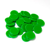 Educational Colours - Counters Green - Pack of 30